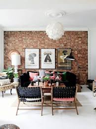 Exposed Brick Accent Wall Veneer by House Of C