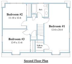Plan  DC Dutch Colonial House Plan   Dutch Colonial Floor    dutch colonial house plan second floor