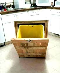 kitchen island with trash bin kitchen island with trash bin fresh wooden trash can cabinet kitchen island with tilt out trash bin