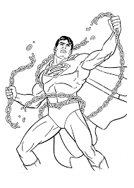 Superman Coloring Pages For Kids Printable