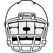 Helmet Football Outline Clipart Photo Wikiclipart