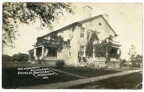 RPPC NY Chaumont Stone House 1816 (Charlie Rosie Dunham) Jefferson ...