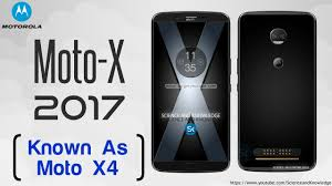 motorola 2017. moto x 2017 known as motorola x4 revealed concept design and phone specifications l