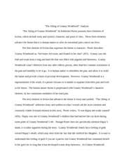 eng efef cc page course hero 3 pages 20080407 short story analysis