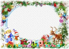 happy new year 2019 photo frame