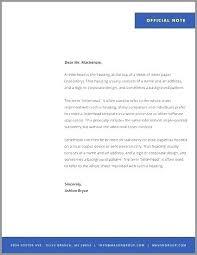 Letter Headed Paper Template Free Letterhead Template Headed Note Paper Templates Livencircle Co