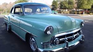 1953 Chevy Club Coupe Stunning Resto Mod - YouTube