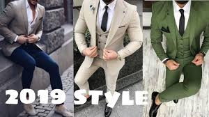 New Suit Design 2019 Man New Style 3 Piece Suits For Men New Design Coat Pant Suit For Boys 2019 New Fashion Collection