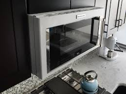 streamline kitchen design with microwave hood combinations