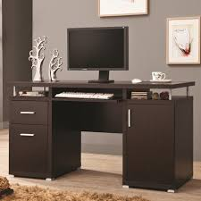 computer furniture home. Brown Wood Computer Desk Furniture Home O