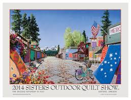 Sisters Oregon Quilt Show – July 12, 2014 | Quilt Show News & 2014SistersPoster The 39th Annual Sisters Oregon Quilt Show ... Adamdwight.com