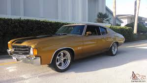 1972 Chevrolet Chevelle SS. RAM JET ZL1 All Aluminum Fuel Injected ...