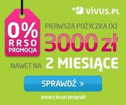 Vivus – teraz więcej na dłużej czyli 3000 zł na 2 miesiące