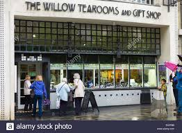 the willow tearooms and gift designed by charles rennie mackintosh in 1903 in sauciehall street glasgow scotland uk