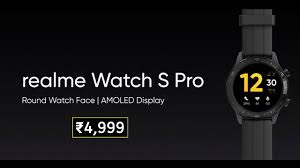 Realme Watch S Pro - Official Specifications | Price In India