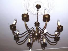 Arme 8 Messing Krone Deckenlampe Lampe Alt 1 Nr