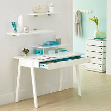 white desk. Wonderful White White Cach Desk On L