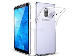 Чехол-<b>накладка skinBOX</b> slim silicone для <b>Samsung Galaxy</b> A6+ ...
