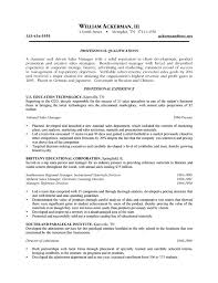 sale resume examples