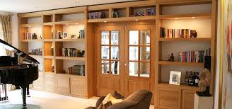 image of style solid wood bookcase
