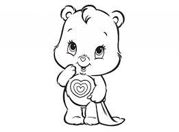 Small Picture Get This Easy Care Bear Coloring Pages for Preschoolers 9iz28