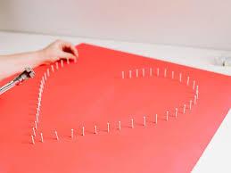 Modern String Art Heart Hgtv .