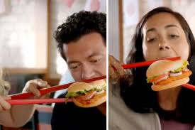 Ad China Morning Of Chopsticks Insensitivity South Amid Backlash Drops ' Complaints Burger Media King Post Social 'what's Asian Cultural