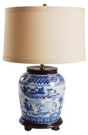 miuccia table lamp tan shade across the pond one kings lane