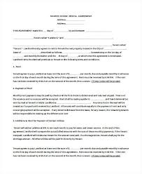 Free Simple Lease Agreement Form Cool Basic Home Rental Agreement Rbarbco