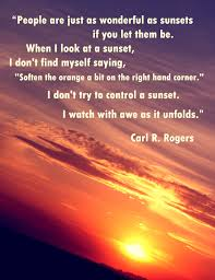 Carl R Rogers Quote Meaningfull Quotes Sunset Quotes Carl