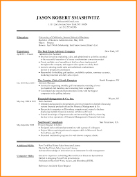 6 Download Resume Templates Word 2010 Odr2017