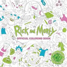 amazon rick and morty official coloring book 9781785655623 an books books