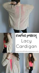 Lacy Crochet Cardigan Pattern Interesting Decorating Design