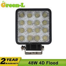 Green Led Work Light Green L 1pc 4 Inch 48w 4x4 Offroad Led Work Light Truck 12v