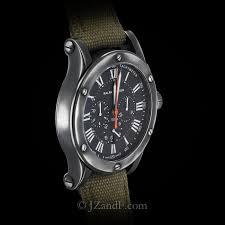 ralph lauren safari rl67 gunmetal finish watch ralph lauren sporting chronograph safari rl67 gunmetal finish right