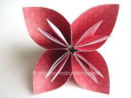Easy Paper Origami Flower Easy Origami Kusudama Flower Folding Instructions