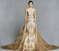 best 25 gold wedding gowns ideas