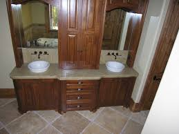 modern bathroom double sinks. Contemporary Modern Double Sink Bathroom Vanity Inspiration With Brown Wood Storage And Bowl Shape Plus Wall Mirror Design America Furniture Ideas Home Sinks