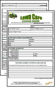 Lawn Care Business Forms Oxynux Org