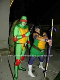 ninja turtles couples costumes. Plain Ninja Homemade Ninja Turtles DIY Couple Costume This Is How I Made This  Body Bought A Full Body Spandex Suit For My Turtle  And Couples Costumes C