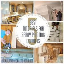 Small Picture How to Spray Paint Cabinets Like the Pros Spray paint cabinets