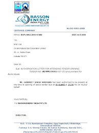 Authorization Letter To Collect Noc From Bank Loan
