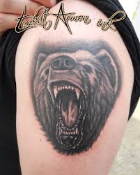 Bear Tattoo Orso Tustat Armon Armon Tuskat Flickr