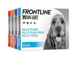 Frontline Plus Flea Treatment Dogs Frontline