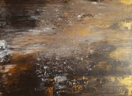 original painting abstract art black