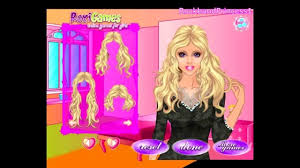 barbie hairstyle games lovely barbie dress up makeup and hairstyle games line saubhaya makeup of
