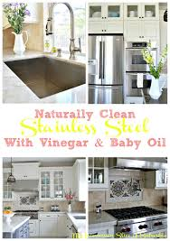 Cleaning Stainless Steel Countertops How To Clean Stainless Steel My Uncommon Slice Of Suburbia