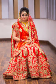 real bride in indian wedding makeup
