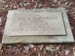 "James Albert ""Joe"" Hawthorne (1889-1971) - Find A Grave Memorial"