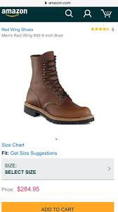 Red Wing Boots 899 American Made Wore Only Once